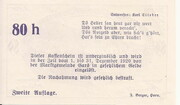 80 Heller (Gars am Kamp) – reverse