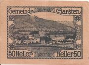 50 Heller (Garsten) -  reverse