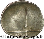 Obole scyphate Ier siècle avant J.-C. – reverse