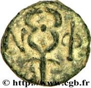 Bronze au caducée-MASSALIA – reverse
