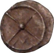 Obol (Massalia, ethnic/M) – reverse