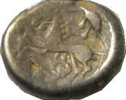 Statère en électrum au triskèle, type de Chenôves ÉDUENS (BIBRACTE, région du Mont-Beuvray) – reverse