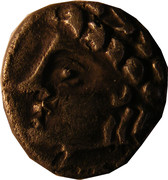 Denier (Allobroges; IAZVS) – obverse