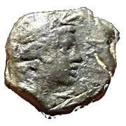 Petit bronze à la Victoire - Antipolis - Antibes – obverse