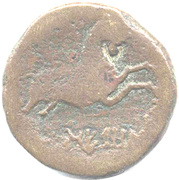 As NERONKEN (Elesyces, Montlaurès oppidum) – reverse