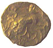 ¼ Gold Stater (Osismii) – reverse