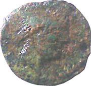 Bronze (Mediomatrici; 2nd type - Griffin) – obverse