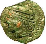 MELDES (Région de Meaux) Bronze ROVECA, classe IV – obverse