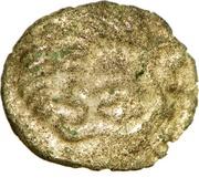 ¼ Stater (Coriosolites; Lyre type) – obverse