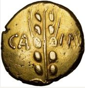 Statère d'or - BRETAGNE - CATUVELLAUNI et TRINOVANTES – obverse
