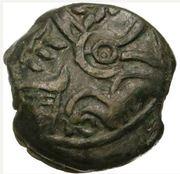 CARNUTES (Région de la Beauce) Bronze COIIAT, lion à droite – obverse
