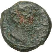 """Bronze PIXTILOS classe V à la """"déesse assise"""" – obverse"""