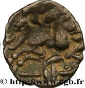 Quart de statère à l'hippophore  (Namnètes - région de Nantes) – reverse