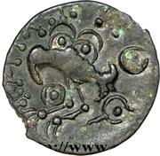 Bronze YLLYCCI à l'oiseau - sénons – reverse