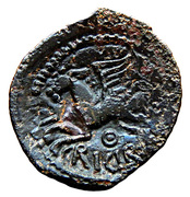 Bronze CRICIRV type barbu – reverse