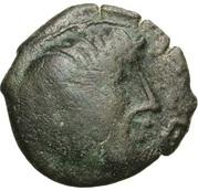 PAGUS CATUSLUGI - Sanctuaire de BOIS L'ABBÉ (Seine-Maritime) Bronze VIIRICIVS, classe IV – obverse