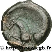 PAGUS CATUSLUGI - Sanctuaire de BOIS L'ABBÉ (Seine-Maritime) Bronze VIIRICIVS, classe IV – reverse