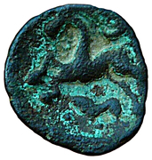 Bronze au cheval retournant la tête – reverse