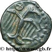 Bronze à l'aigle et à la rouelle (Carnutes) – reverse