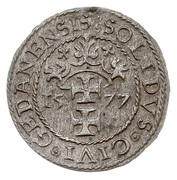 Szeląg oblężniczy - Gdańsk under siege (Gdańsk mint) – reverse