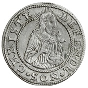 Grosz oblężniczy - Gdańsk under siege (Gdańsk mint) – obverse