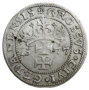 Grosz oblężniczy - Gdańsk under siege (Gdańsk mint) – reverse