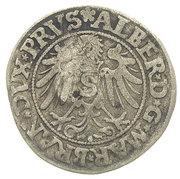 Grosz oblężniczy - Gdańsk under siege (countermarked) – reverse