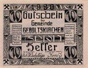 10 Heller -  obverse