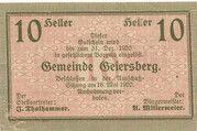 10 Heller (Geiersberg) -  obverse