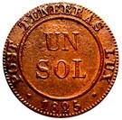 1 Sol – reverse