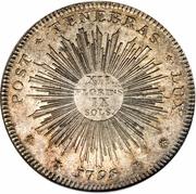 12 Florins, 9 Sols – reverse