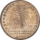 1 Genevoise (Revolutionary Coinage) – obverse