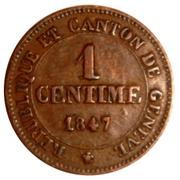 1 Centime – reverse