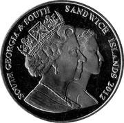 2 Pounds (1st Wedding Anniversary William & Kate) – obverse