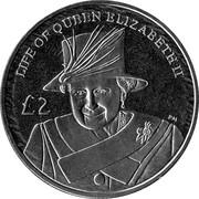 2 Pounds (Diamond Jubilee - Elizabeth II with hat) – reverse