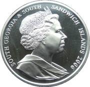 2 Pounds - Elizabeth II (1953 Royal family portrait) – obverse
