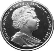 2 Pounds - Elizabeth II (Order of the Garter) – obverse