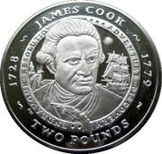 2 Pounds - Elizabeth II (James Cook) – reverse