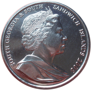 2 Pounds - Elizabeth II (Rockhopper Penguin) – obverse