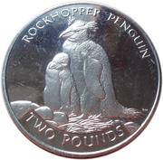 2 Pounds - Elizabeth II (Rockhopper Penguin) – reverse