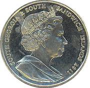 2 Pounds  - Elizabeth II (Penguin) – obverse