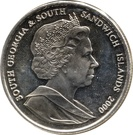 2 Pounds - Elizabeth II (Discovery of South Georgia) – obverse