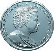 2 Pounds - Elizabeth II (Queen on horseback) – obverse