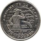 2 Pounds - Elizabeth II (Discovery of South Georgia) – reverse