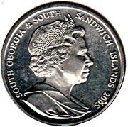 2 Pounds - Elizabeth II – obverse