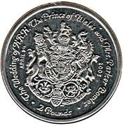 2 Pounds - Elizabeth II – reverse
