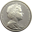 2 Pounds - Elizabeth II (Grytviken) – obverse