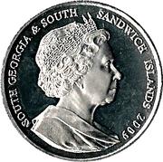 2 Pounds - Elizabeth II (Nimrod Expedition) – obverse