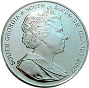 2 Pounds - Elizabeth II (International Polar Year) – obverse