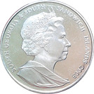2 Pounds - Elizabeth II (Captain James Cook) – obverse
